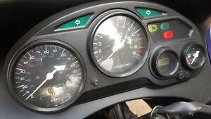 03 SUZUKI GSX600F GSX 600 98-04 complete clocks meters gauges 10,000 miles