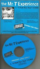 MR. T EXPERIENCE I fell for you 1995 USA PROMO DJ CD Single w/ PRINTED LYRICS