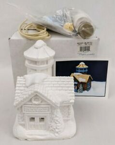 Accents Unlimited Wee Crafts Christmas Village Water Tower Public Works #21609