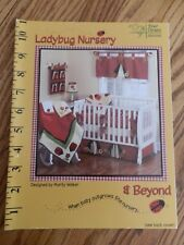 Ladybug Nursery & Beyond Quilt Sew Book Four Corners Designs Marty Walker FC2303
