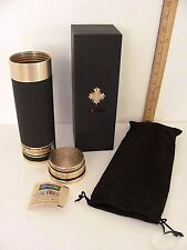 New! Limited Edition Cohiba Comadore Travel Cigar Humidor Brass w/ Cedar Lining