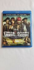 Pirates of the Caribbean: On Stranger Tides 3D Blu-Ray DVD [Limited Edition]