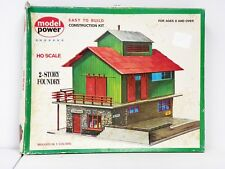 "Model Power Ho U/A ""2-Story Foundry"" Plastic Model Kit #445"