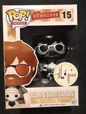 Funko Pop! The Hangover Alan & Baby Carlos #15 Vaulted Rare Custom Painted B/W