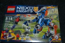 LEGO NEXO KNIGHTS 2016 LANCE'S MECHA HORSE 237 PCS. # 70312 FACTORY SEALED