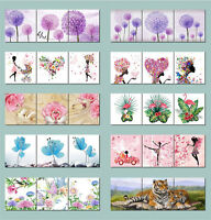 30 Style Abstract Wall Art Photo Painting Canvas Frame Butterfly Flowers Beauty