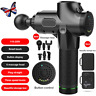 Massage Gun Percussion Massager Muscle Vibration Relaxing Therapy Deep Tissue@