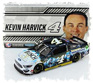 """2020 KEVIN HARVICK #4 HEAD FOR THE MOUNTAINS COLOR CHROME 1:24 """"108 MADE"""""""