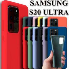 Funda de Silicona Suave para Samsung Galaxy S20 Ultra - Diseño Original