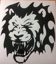 Cabeza De León Tribal Vinilo gráficos calcomanías adhesivos para coches Peugeot Tiger Big Cat miedo