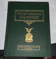 Woodworking Machinery Yates American Machine Company Catalog First Edition 1925
