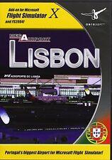 Mega Airport Lisbon (PC CD) BRAND NEW SEALED AD ON FLIGHT SIM X