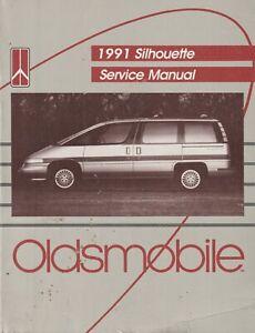 Oldsmobile Silhouette Service Manual 1991