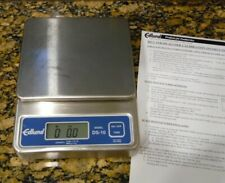 Edlund DS-10 Digital Commercial Grade Portion Control Scale Stainless 9v Battery