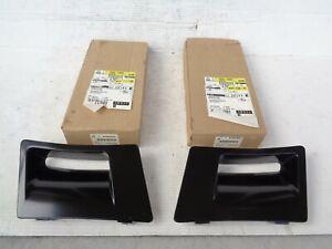 NOS GM 1985-1990 Pontiac Trans Am Front Fender Air Extractors 10030552 10030553