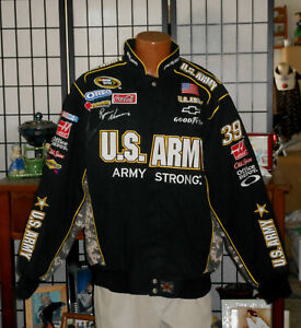 2009 RYAN NEWMAN ARMY STRONG SIGNED NASCAR JACKET XL