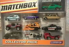 NIB Matchbox Collector Pack, 2009 with one exclusive vehicle.