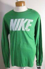 NWT Nike Sportswear Mens Long Sleeve Crew T-Shirt XL Green MSRP$30