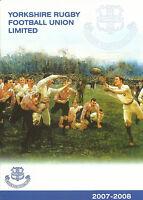 YORKSHIRE v NORTHUMBERLAND MAR/ NORTH MIDLANDS APR RUGBY UNION COUNTY U20's 2008