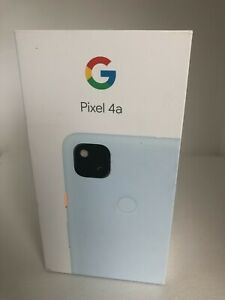 NEW! Google Pixel 4a G025J - 128GB - Barely Blue (Unlocked CDMA+GSM) Smartphone