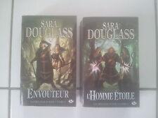 lot Sara DOUGLASS envouteur / l'homme étoile ( saga Axis / Milady)