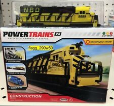 *Power Trains 2.0* CONSTRUCTION MOTORIZED TRAIN ENGINE NBD 2018 NEW