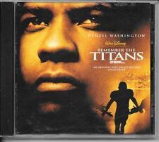 CD ALBUM BOF/OST 12 TITRES--REMEMBER THE TITANS--GAYE/STEVENS/TREVOR RABIN