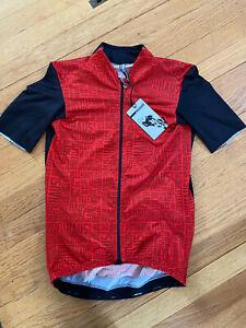 ASSOS Cycling Jersey Short Sleeve Shop Aero Equipe Custom Mens Medium Full Zip