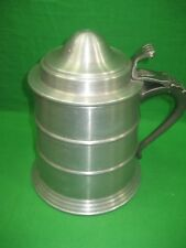 Vintage Classic Aluminum Pewter Tankard Stein Mug Ice Chest Bucket Cooler