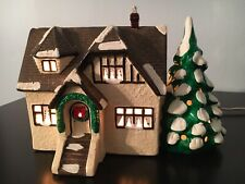Department 56 Original Snow Village Stucco Bungalow
