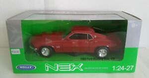 FORD MUSTANG BOSS 429 WELLY SCALA 1/24