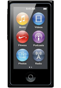 Brand New Apple iPod nano 8th Generation Black (16 GB) MP3 Player - Retail Box