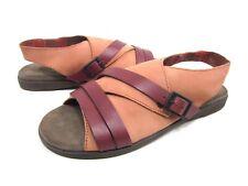 2d9ab766da49ce OTBT Womens Pierz Adjustable Buckle Strappy Flat Sandals Mandarin Size 6 M