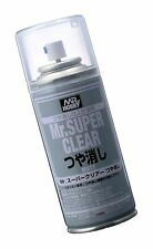 Mr. Super Clear Flat Spray Original Version