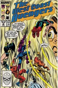 WEST COAST AVENGERS (1985) #32 - Back Issue