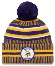 New Era 2019 NFL Minnesota Vikings Cuff Knit Hat Home OTC Beanie Stocking Cap