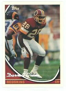 1994 Topps Special Effects Washington Redskins football team set