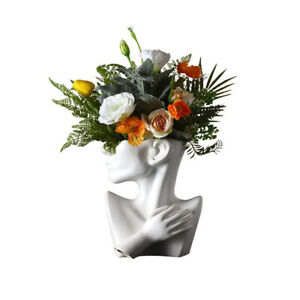 Vase Nordic Ceramics Human Head Abstract Portrait Greek Statue Face VASE ONLY