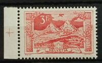 Switzerland 1918 3 francs landscapes Mi 142 Sc 182 Yt 167 MNH margin piece