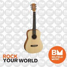 Cort Earth Mini Dreadnaught Acoustic Guitar Natural Satin Traveller w/ Soft Bag