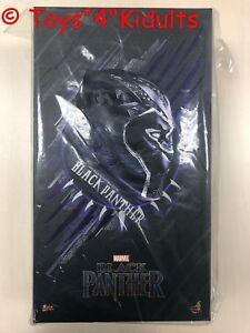 Hot Toys MMS 470 Black Panther T'Challa Chadwick Boseman 1/6 Action Figure NEW
