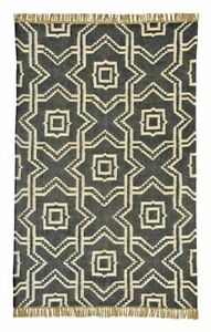 Contemporary Area Rugs Black 8x11 Abstract 5x8 Carpet Modern Rug 8x10 Cream 2x3