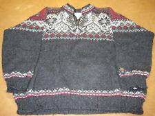 DALE OF NORWAY 1/4 zip SALT LAKE CITY 2002 WINTER OLYMPICS Sweater Men's XL Wool