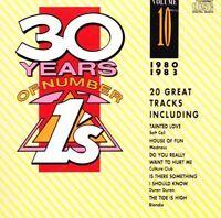 30 Years of Number Ones 10 (1980-83; 20 tracks) Jam, Kelly Marie, Blondie.. [CD]