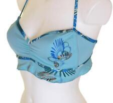 """Bnwt Women's Oakley Lagoon Padded Bikini Top Swim Wear Large 39"""" 40"""" New"""
