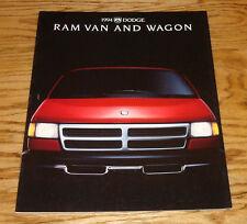 Original 1994 Dodge Ram Van & Wagon Sales Brochure 94 12/93