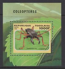 TOGOLAISE 1996 Beetle sheet MINT MNH