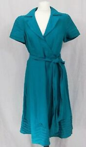 Debenhams Betty Jackson Black Linen Dress Green Size 14 BNWT RRP £65