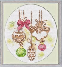 Counted Cross Stitch Kit OVEN - Gingerbread