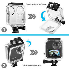 Waterproof Housing Shell Case Cover Fit for GoPro Max 360 Panoramic Sport Camera